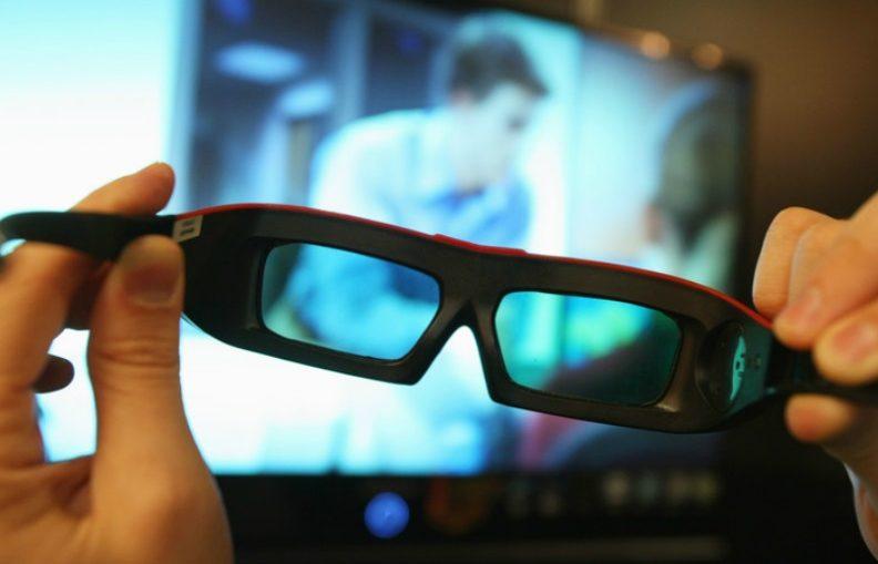 3D movie glass