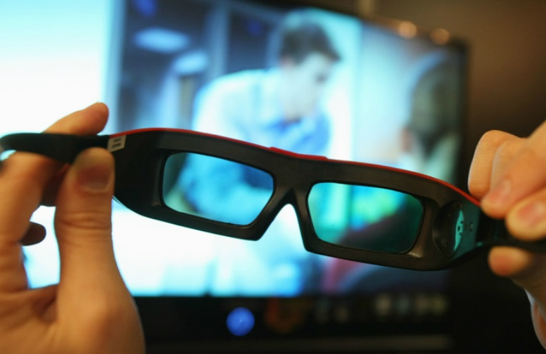 3D movie glass