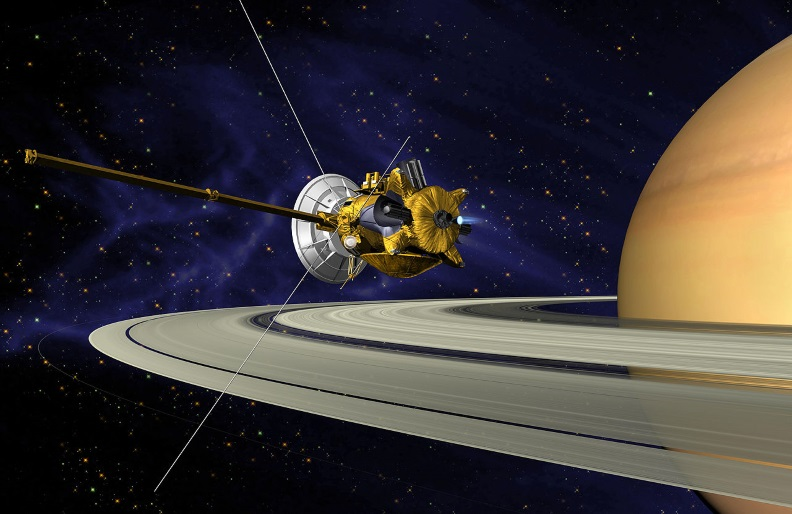 Cassini Saturn Orbit