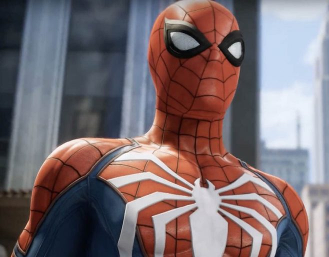 Gameplay footage from Spider-Man on the PS4 was shown at E3 2017