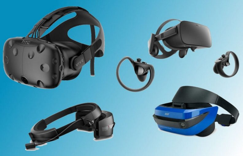 Oculus HTC Mixed Reality headsets