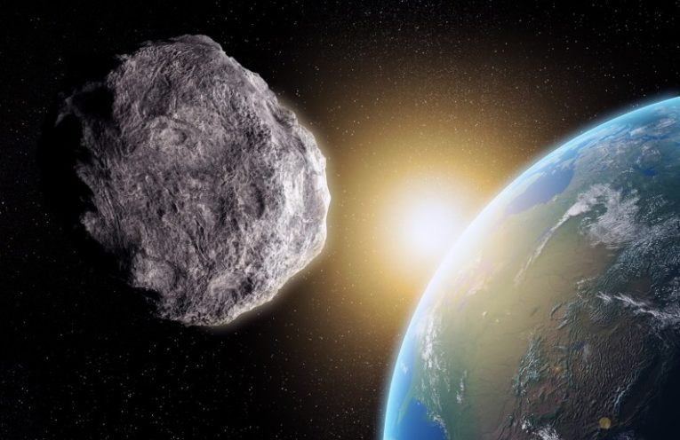 asteroid about to slam into Earth