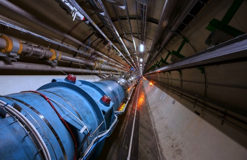 Operators of CERN's Large Hadron Collider were able to accelerate lead atoms for the first time.