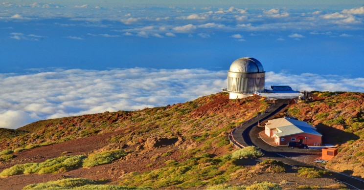 HKU-LSR's Spanish flagship telescope Nordic Optical Telescope