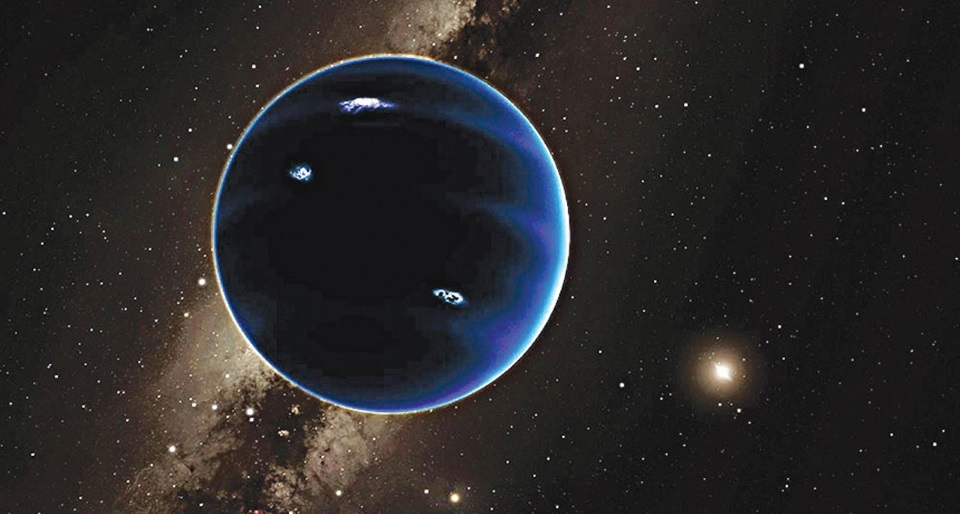 hypothetical Planet Nine