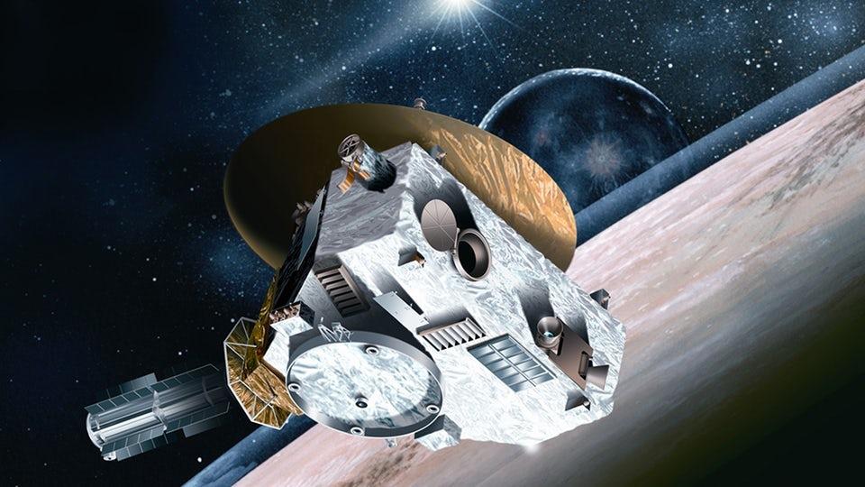Artist's impression of the New Horizons probe