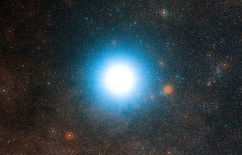 Alpha Centauri, which features prominently in our explanation.