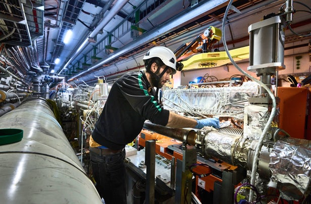 New components for the HL-LHC are installed