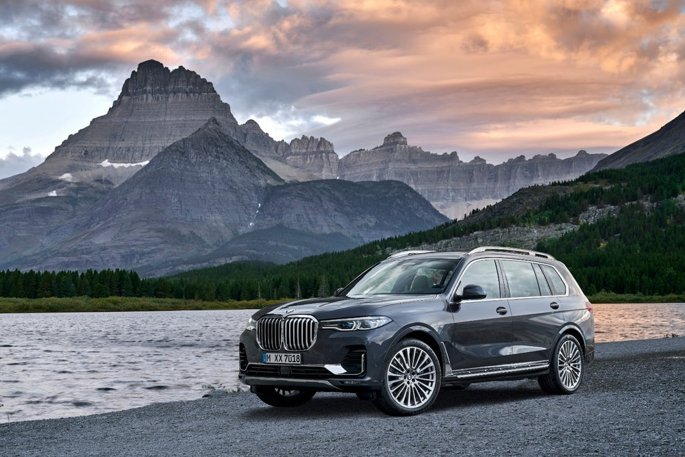 2019 BMW X7: poised to take on the similarly colossal Mercedes GLS
