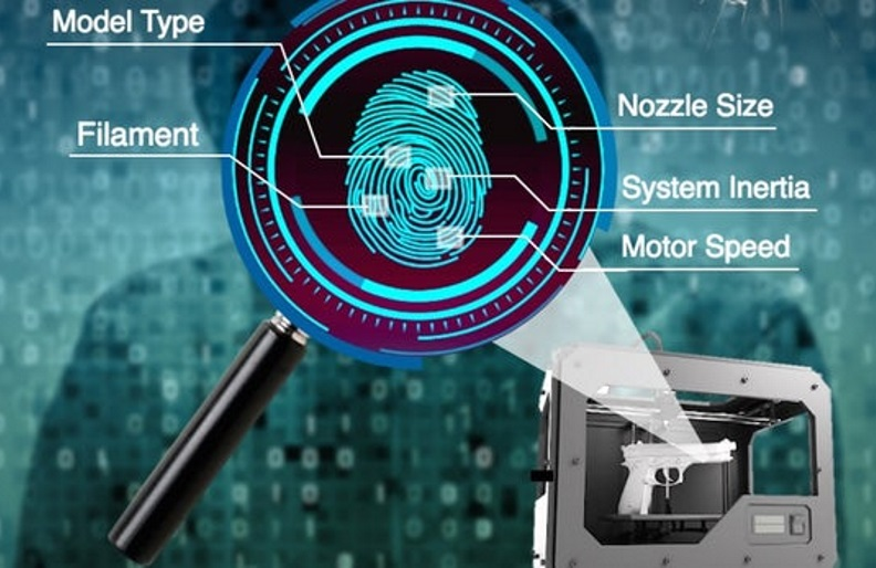 "The system establishes a ""fingerprint"" for any one printer, based on a combination of factors"
