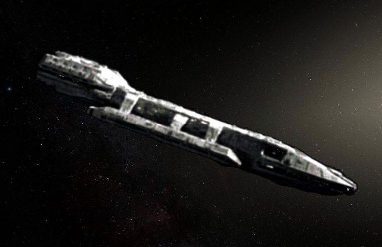 oumuamua spaceship