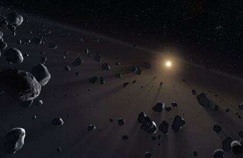 Kuiper Belt's ice cores.