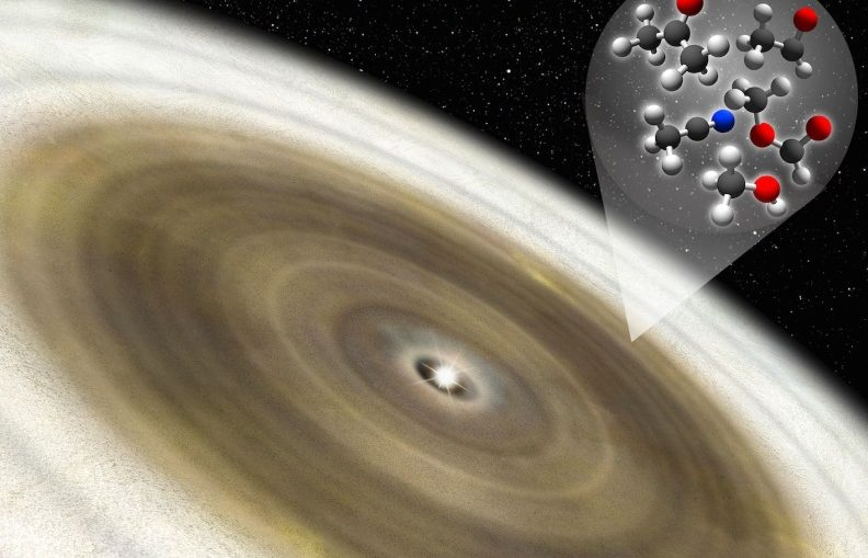 A Star's Outburst is Releasing Organic Molecules Trapped in the ice Around it