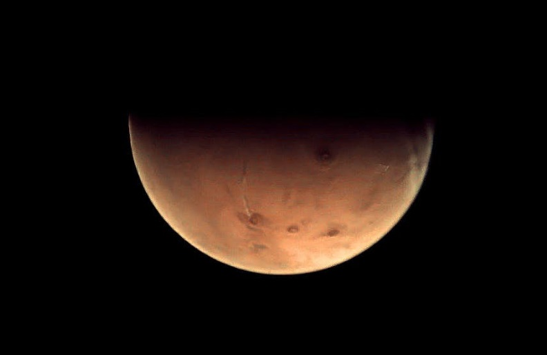Image of the Red Planet taken by ESA's Mars Express spacecraft back in December 2012