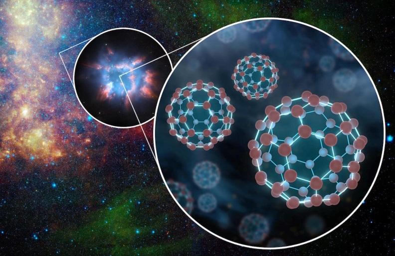 Carbon-chain molecules as complex as C60