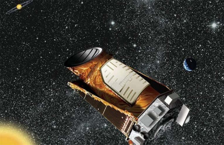 Artist's concept of NASA's Kepler space telescope.
