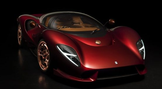 Curvy looks of the De Tomaso P72