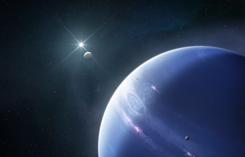 Something mysterious is going on inside the ice giant Neptune.
