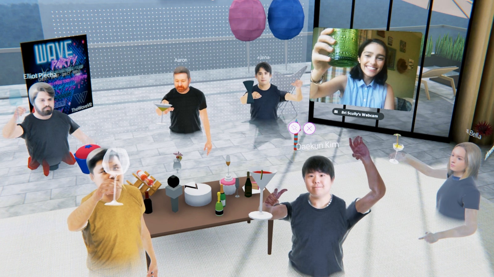 This week's Spatial update lets the 3D avatars of participants with headsets interact with the 2D webcam feeds of those without headsets.